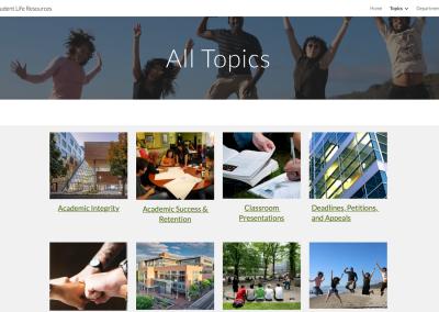 PSU Student Life Resources